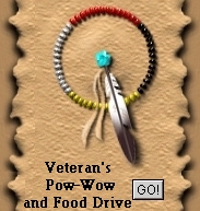 This will take you to the Veteran's Powwow and Food Drive page